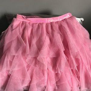 2989 Place Ruffles Pink Skirt